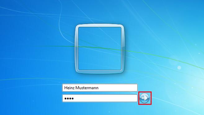 An Windows anmelden ©COMPUTER BILD