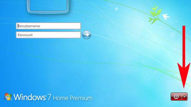 Windows-Anmeldung ©COMPUTER BILD