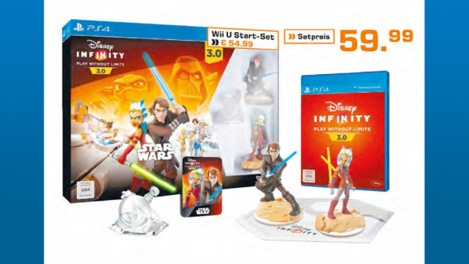 Disney Infinity 3.0 – Star Wars: Starter Set (Wii U) © Saturn