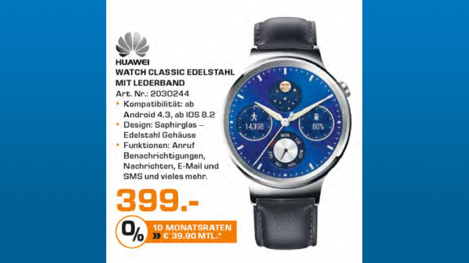 Huawei Watch © Saturn