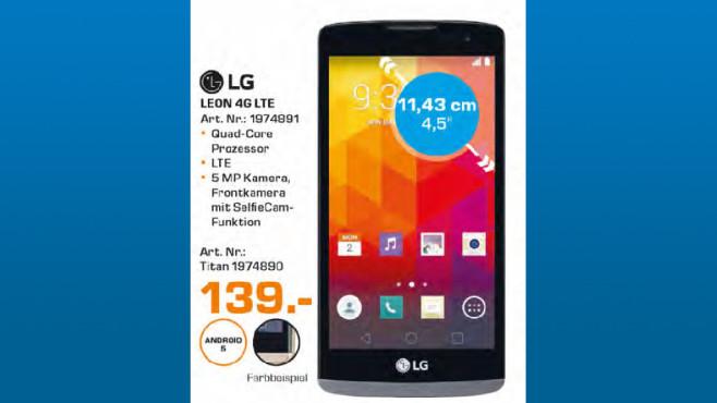 LG Leon 4G ©Saturn