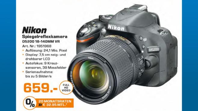 Nikon D5200 Kit 18-140 mm ©Saturn