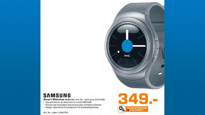 Samsung Gear S2 ©Saturn