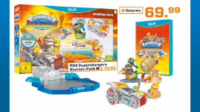 Skylanders – Superchargers: Starter Pack (Wii U) ©Saturn