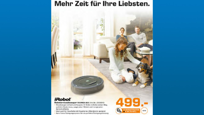 iRobot Roomba 866 © Saturn
