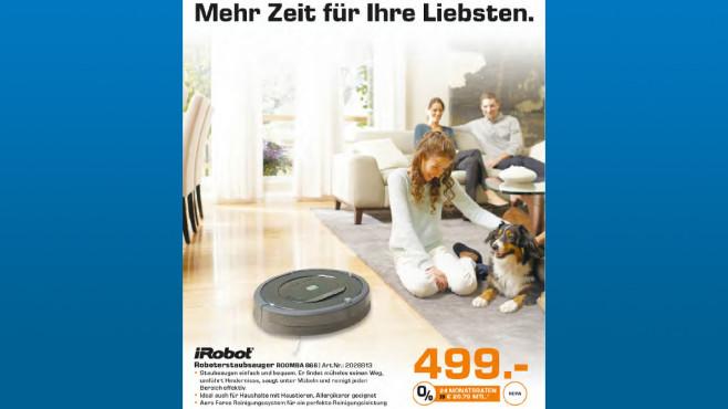iRobot Roomba 866 ©Saturn