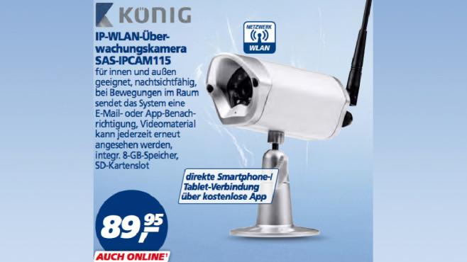 König SAS-IPCAM115 ©Real
