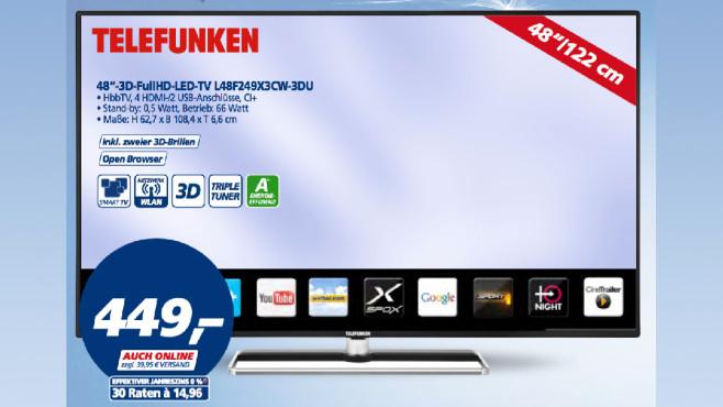 Telefunken L48F249X3CW-3DU ©Real