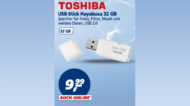 Toshiba USB-Stick Hayabusa ©Real