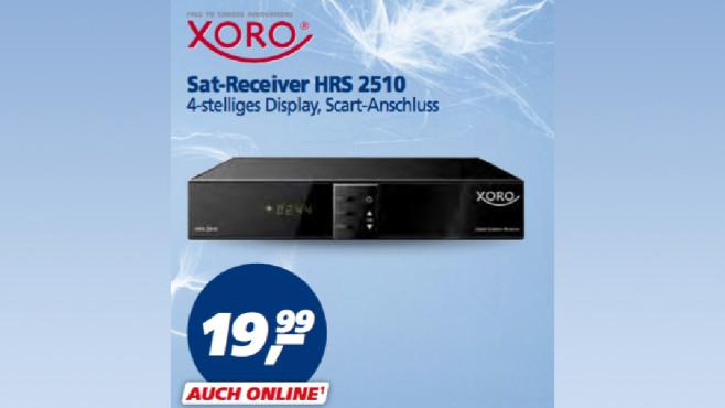Xoro HRS 2510 ©Real