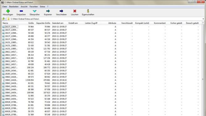 7-Zip: E-Mail-Versand und Backups abkürzen ©COMPUTER BILD