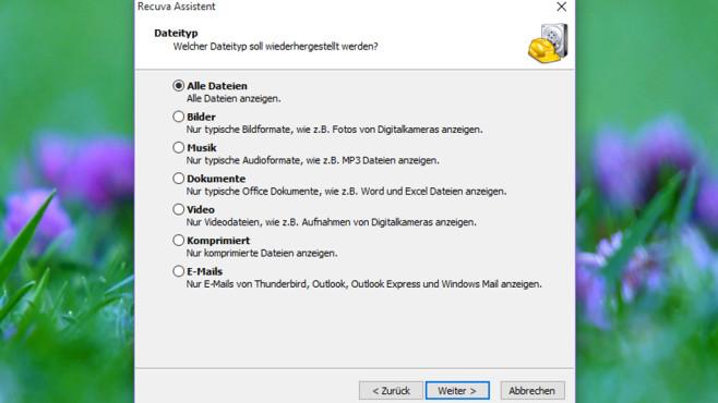 Recuva: Gelöschte Dateien rekonstruieren ©COMPUTER BILD