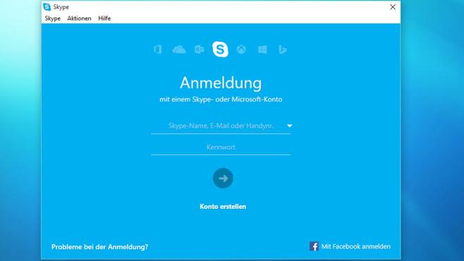 Skype: Kontakt halten vom Schreibtisch aus ©COMPUTER BILD