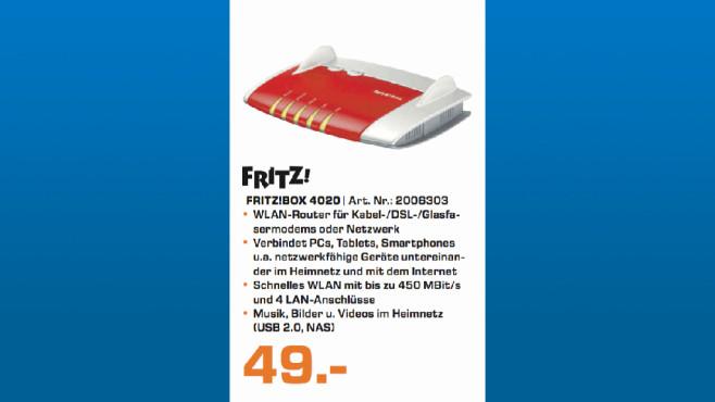 AVM FritzBox 4020 ©Saturn