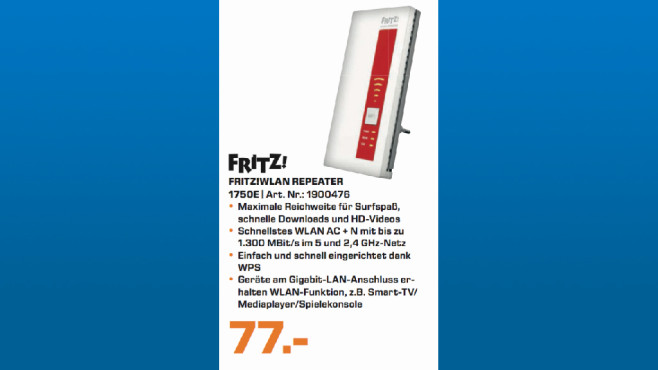 AVM FritzRepeater 1750E ©Saturn