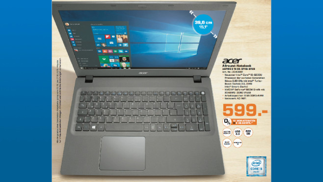 Acer Aspire E 15 E5-574-57ZD © Saturn