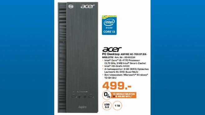 Acer Aspire XC-705 DT.SX-MEG.079 ©Saturn