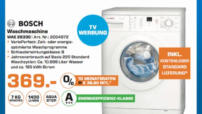 Bosch WAE 28330 ©Saturn