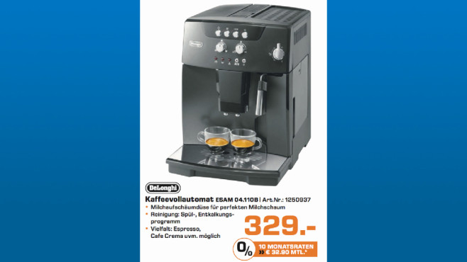 DeLonghi ESAM 04.110B © Saturn