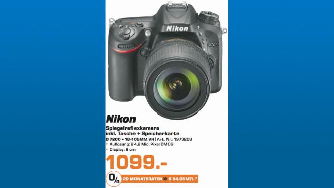 Nikon D 7200 + 18-105MM VR ©Saturn
