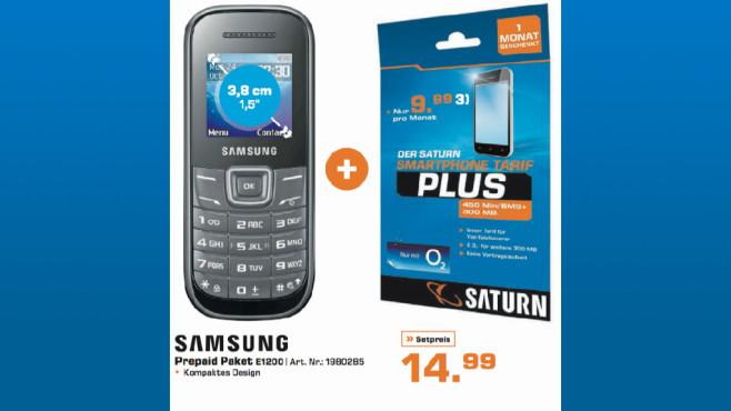 Samsung E1200 ©Saturn