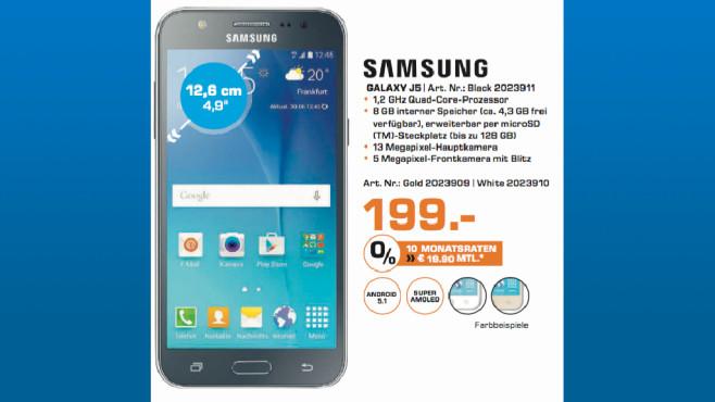 Samsung Galaxy J5 ©Saturn