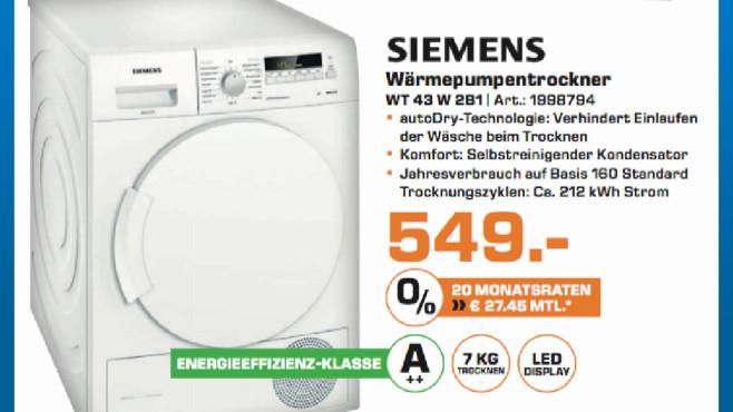 Siemens WT 43 W 281 ©Saturn