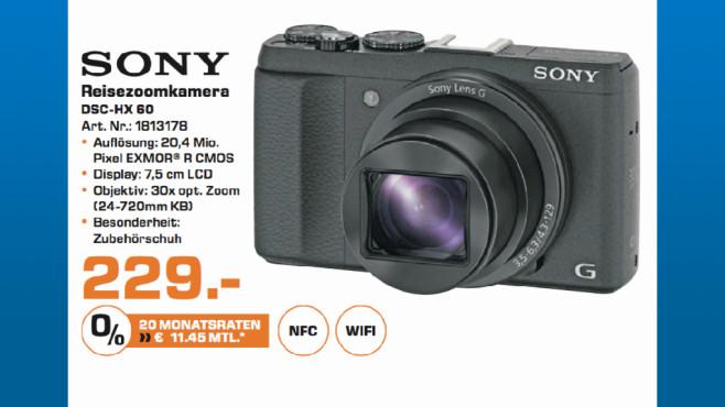 Sony DSC-HX 60 ©Saturn
