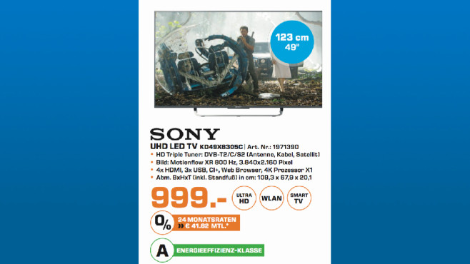 Sony KD49X8305C ©Saturn