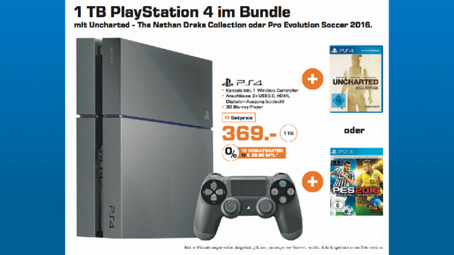 Sony Playstation 4 Bundle © Saturn