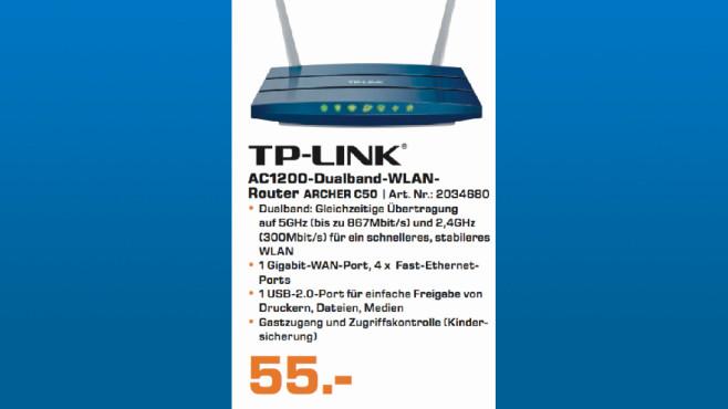 TP-Link AC1200 ©Saturn