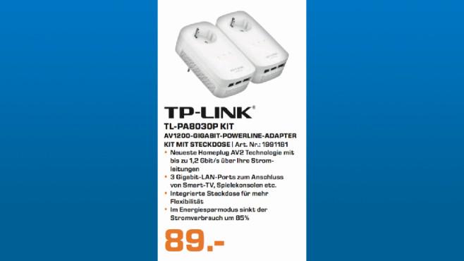 TP-Link TL-PA8030P ©Saturn