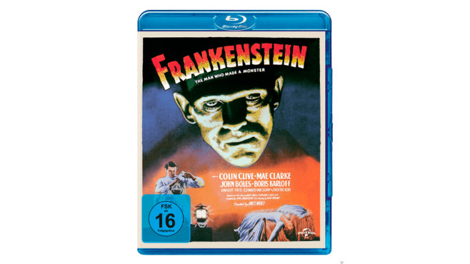 Frankenstein-Bluray © Frankenstein