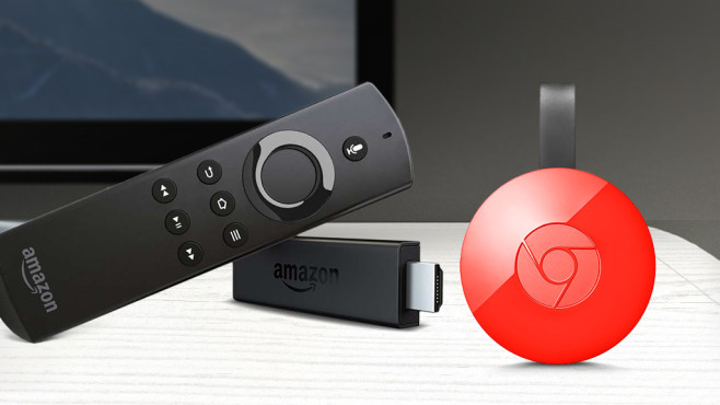 chromecast und fire tv stick im test audio video foto bild. Black Bedroom Furniture Sets. Home Design Ideas