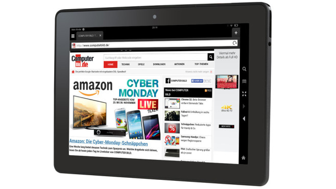 Amazon Fire HDX 8.9 © COMPUTER BILD