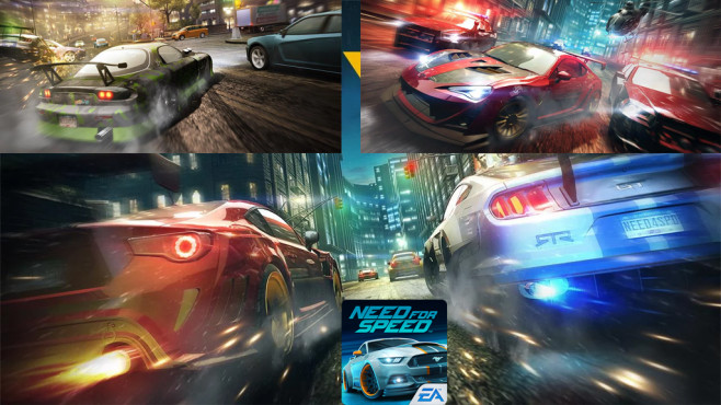 Need for Speed � No Limits ©EA