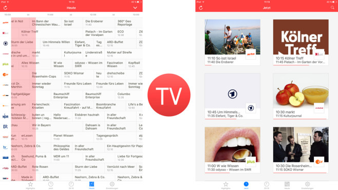 TV Programm On Air ©stanwood GmbH