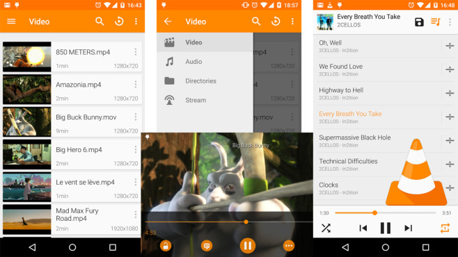 VLC for Android ©Videolan