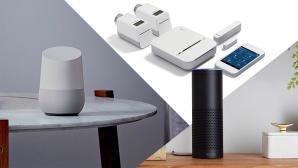 Smart-Home-Zentralen im Überblick ©Amazon, Bosch, Google