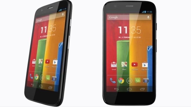 Motorola Moto G 4G LTE ©Motorola
