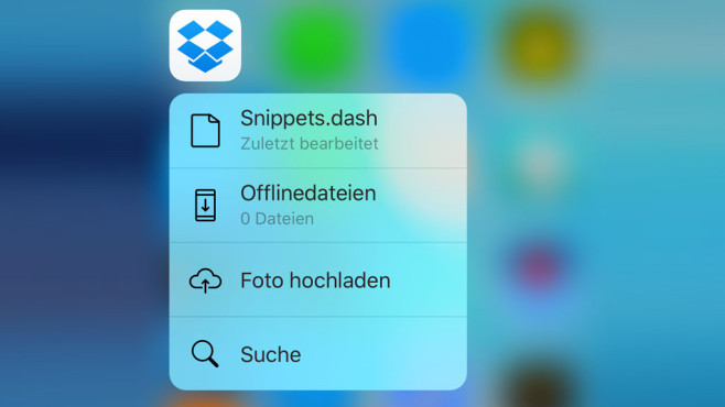 Dropbox © Apple