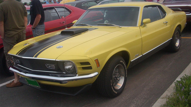 Diamantenfieber: Ford Mustang Mach I © Bull-Doser, Wikipedia