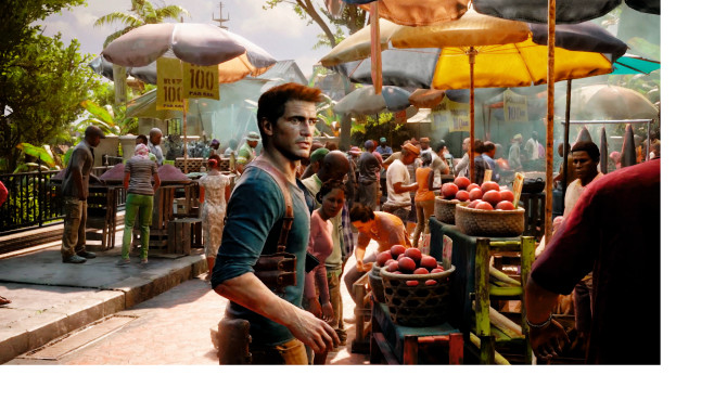 Uncharted 4 – A Thief's End: Markt © Sony / Naughty Dog