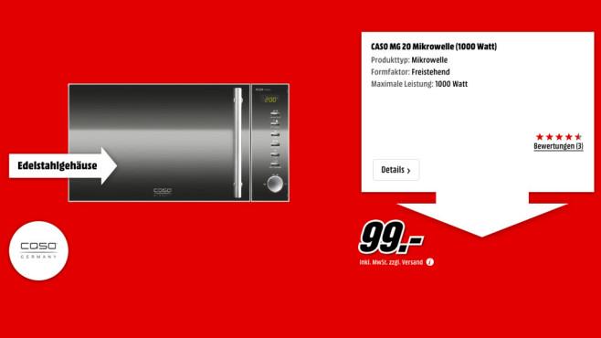 Caso MG 20 ©Media Markt