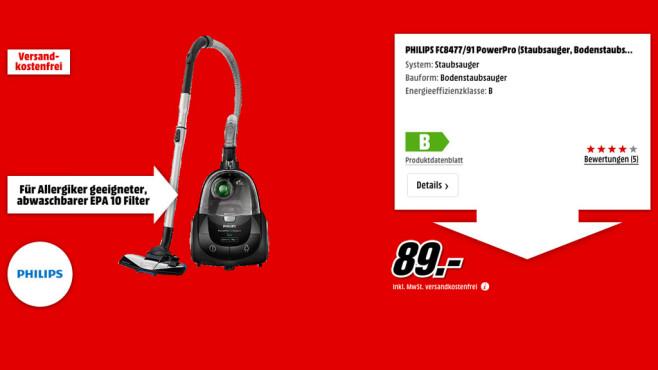 Philips FC8477/91 PowerPro ©Media Markt