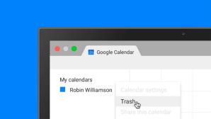 Google Kalender Papierkorb ©Google
