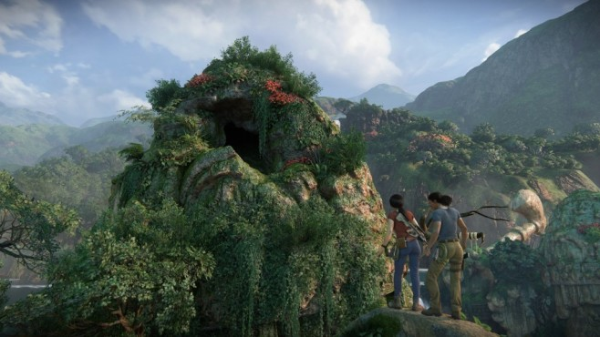 Uncharted – The Lost Legacy angespielt: Wenn Frauen hauen Die Landschaft ist unglaublich gut gelungen, es gibt eigentlich keinen Winkel im Spiel, der nicht wunderschön ist. ©Sony