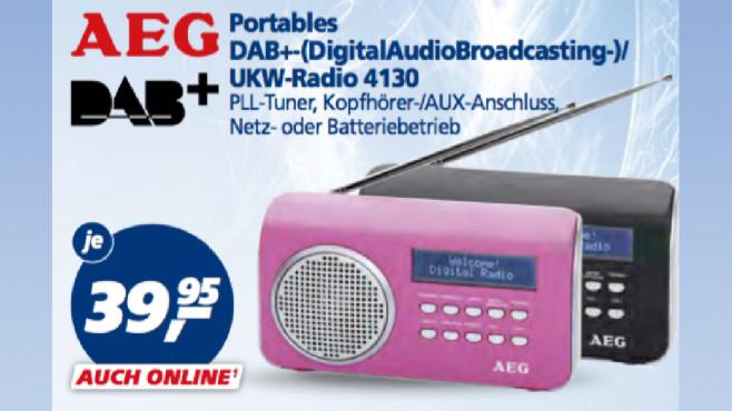 AEG UKW-Radio 4130 ©Real