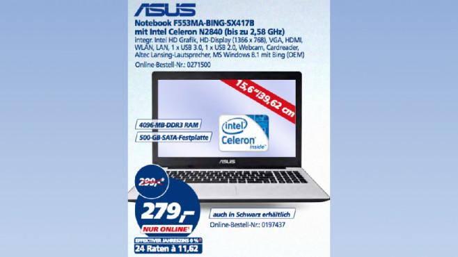 Asus F553MA-BING-SX417B ©Real
