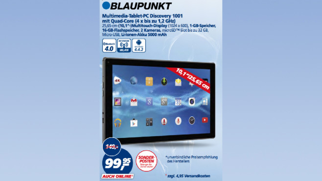 Blaupunkt Discovery 1001 ©Real
